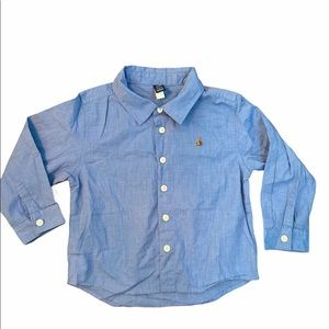 ✨3 for $30✨4T Boys Long Sleeve Button Down Shirt